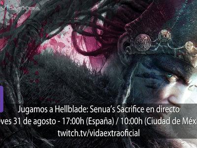 Streaming de Hellblade: Senua's Sacrifice a las 17:00h (las 10:00h en Ciudad de México)