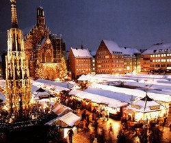 Nüremberg, la capital alemana de la Navidad