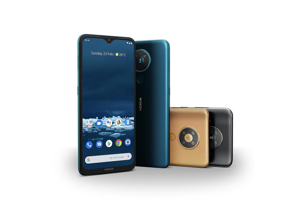 Nokia 5.3: la nueva gama media de Nokia℗ tiene cuatro cámaras y una pantalla de gran tamaño