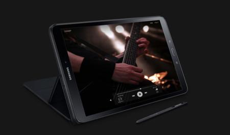 La nueva tablet de Samsung apuesta por el lápiz: hereda el S Pen del Galaxy Note 7