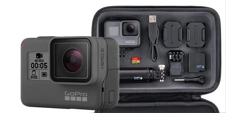 Hoy, nueva oportunidad en Amazon para comprar la GoPro Hero 5 en un completo pack por sólo 269,99 euros