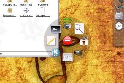 Kommando, lanzador de aplicaciones para KDE