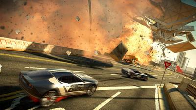 'Split/Second', el juego de conducción más espectacular de esta generación, se muestra en varios vídeos