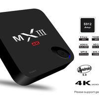 TV Box Android 6.0 MXIII, con 2GB de RAM y procesador Octa Core, por 61,62 euros