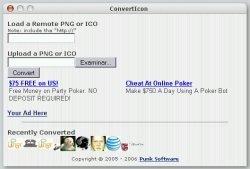 ConvertIcon, conversor de formatos entre archivos ico y png