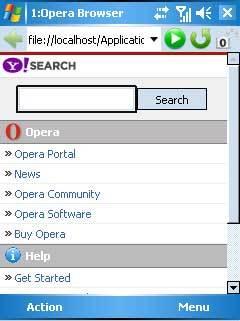Google, buscador por defecto en Opera Mobile y Mini