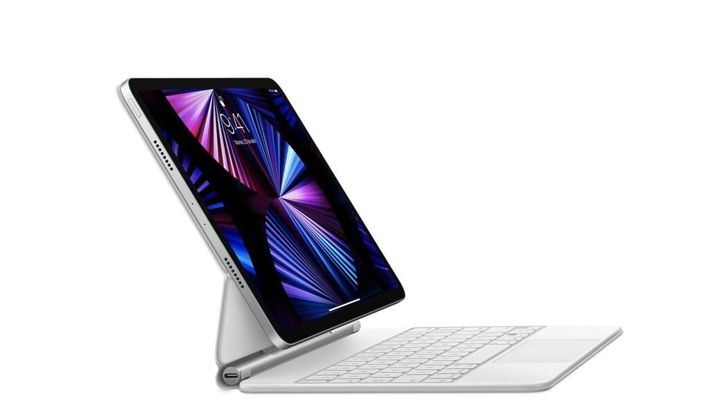 El reciente iPad Pro (2021) de 12,9 pulgadas solo es compatible con el reciente Magic Keyboard