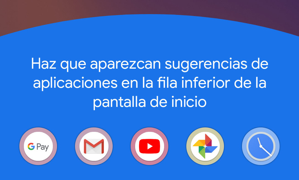 Pixel Launcher en Android-OS 11 estrena mas recientes sugerencias de App en la pantalla de inicio