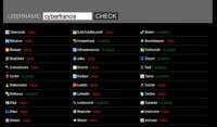 Usernamecheck, comprueba si tu nick está ocupado en diferentes sitios web