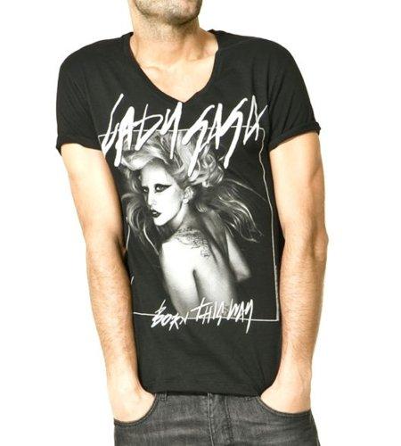 Camisetas de Lady Gaga para hombre en Zara: ¿princesa low cost?