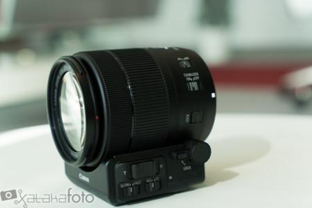 Canon EF-S 18-135mm f/3.5-5.6 es oficial junto al nuevo adaptador PZ-E1