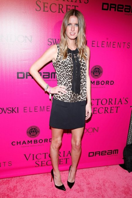 Nicky Hilton Victorias Secret fiesta
