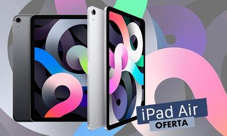 En los Apple Days de MediaMarkt el iPad Air de 64 GB cuesta 50 euros menos y lo tienes en todos los colores para elegir