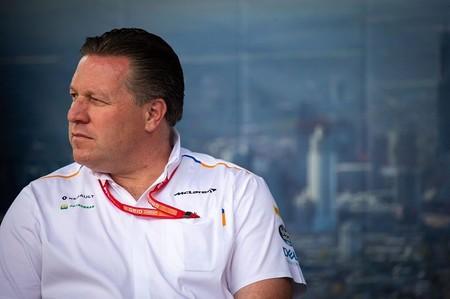 Zak Brown Amenaza Formula 1