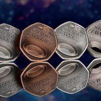 Reino Unido lanza una moneda de 50 peniques en honor a Stephen Hawking