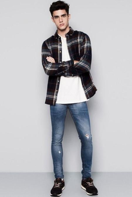 Pull And Bear Fall 2014 Fashions Xavier Serrano 011