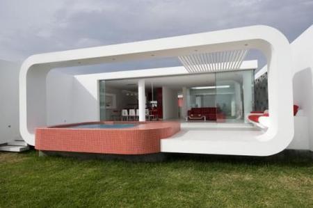 Casa de diseño en Perú, Palabritas Beach