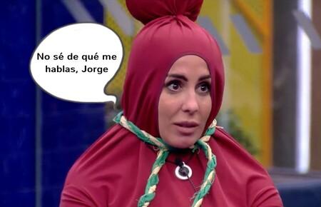"""Los motivos por los que Jorge Javier Vázquez piensa que Anabel Pantoja """"es muy ridícula"""""""