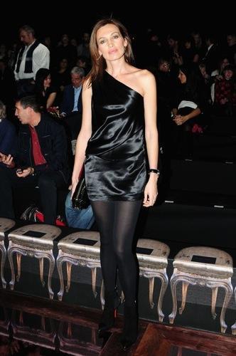 Celebrities en la Semana de la Moda de Milán, Nieves Álvarez