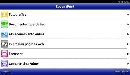 Epson iPrint 3.0, la nueva versión de la aplicación de impresión remota de Epson