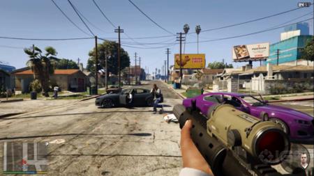 GTA V correrá a 1080p/30fps en PS4 - así se ve el modo en primera persona