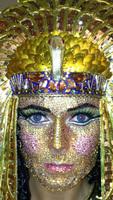 ¡Heidi Klum cumplió y se disfrazó de Cleopatra!
