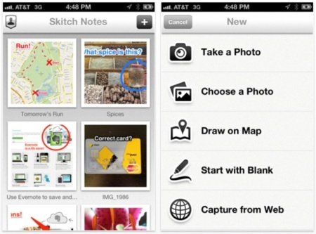 Skitch para iPhone