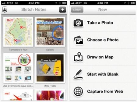Skitch para iPhone