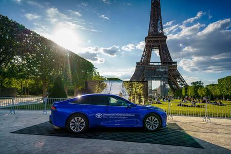 Toyota Mirai Record hidrógeno fuel cell