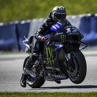 Yamaha ha conseguido salvar el motor de la moto de Maverick Viñales que acabó en llamas en el Red Bull Ring