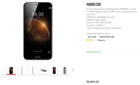 Huawei Gx8 Vmall Mexico