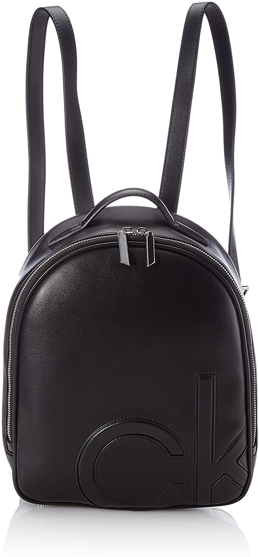 Calvin Klein Round BP SM, Accesorios para Mujer, Black, One Size