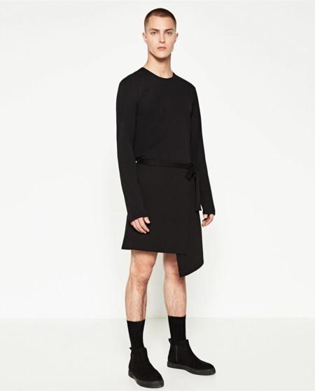 La falda masculina de Zara: esa prenda en la que pensaremos dos veces antes de comprar