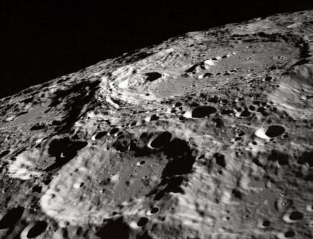 Nasa Moon Crater 302
