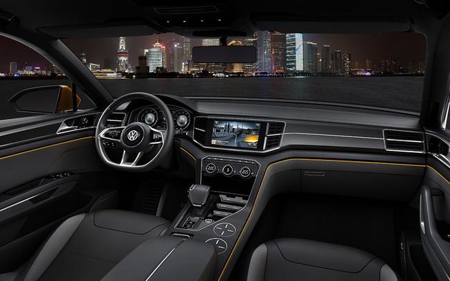VW CrossBlue Coupé Concept, vista interior