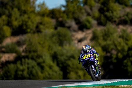 Valentino Rossi Test Jerez 2