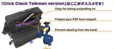Click Clack, transporte para la PSP y el Talkman