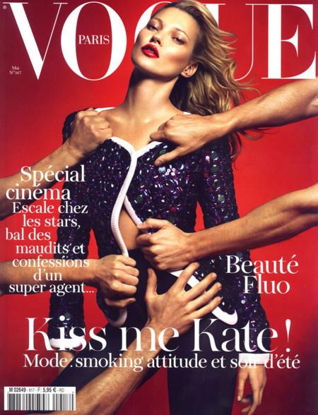 Vogue Paris deseada kate moss