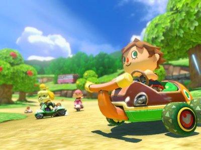 Aquí hay un buen empacho de vídeos a 60 fps del set 2 de Mario Kart 8