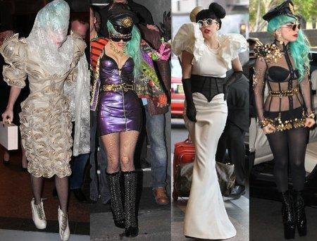 Carnaval, carnaval ¡no!, los últimos modelitos de Lady Gaga