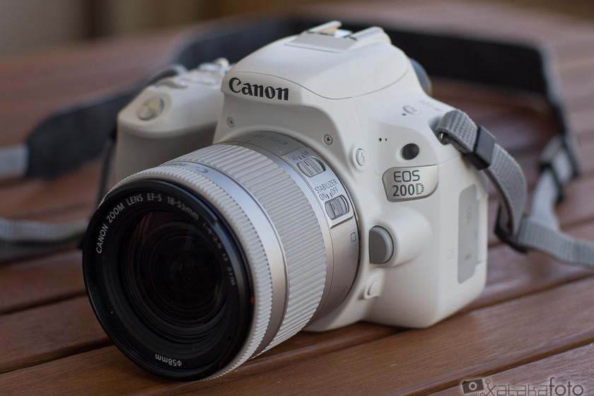 """Canon EOS 200D, análisis (review): Una réflex """"diferente"""" para ..."""