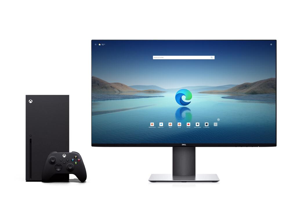 Usar la Xbox (casi) como un PC está más cerca: el soporte de ratón y teclado llega al navegador Microsoft Edge