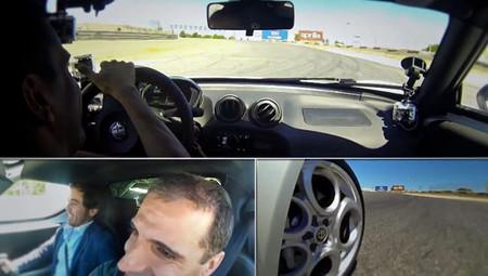 La vuelta de Marc Gené al Jarama con el Alfa Romeo 4C