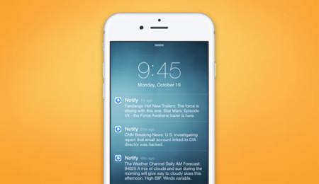 Al instante y sin desbloquear el móvil: así funciona Notify de Facebook