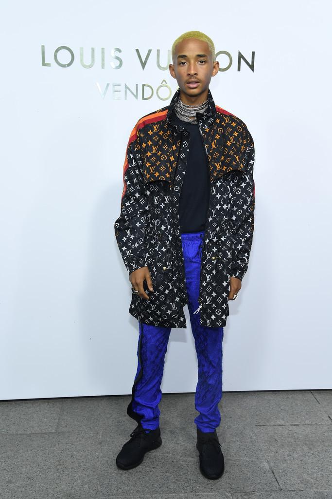 Jaden Smith Se Rinde A La Logomania De Louis Vuitton De Paso Por La Fashion Week De Paris 2