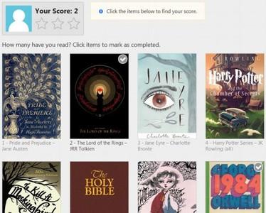Las 100 mejores novelas según la BBC: ¿Cuántas has leído?