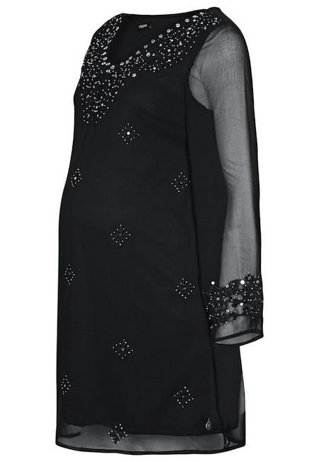 vestido túnica premamá brillos