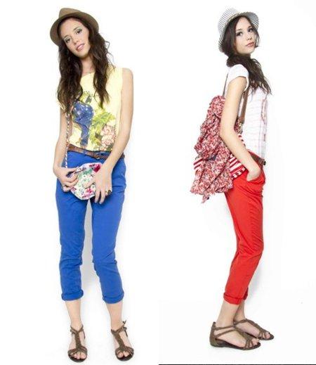 sfera pantalones colores