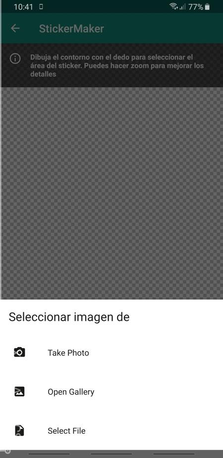 Opciones Foto
