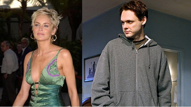 Sharon Stone y Christopher Denham